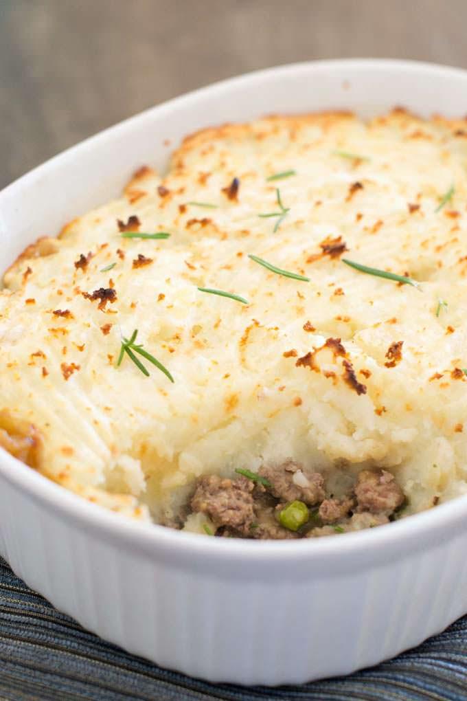 Classic Lamb Shepherd's Pie