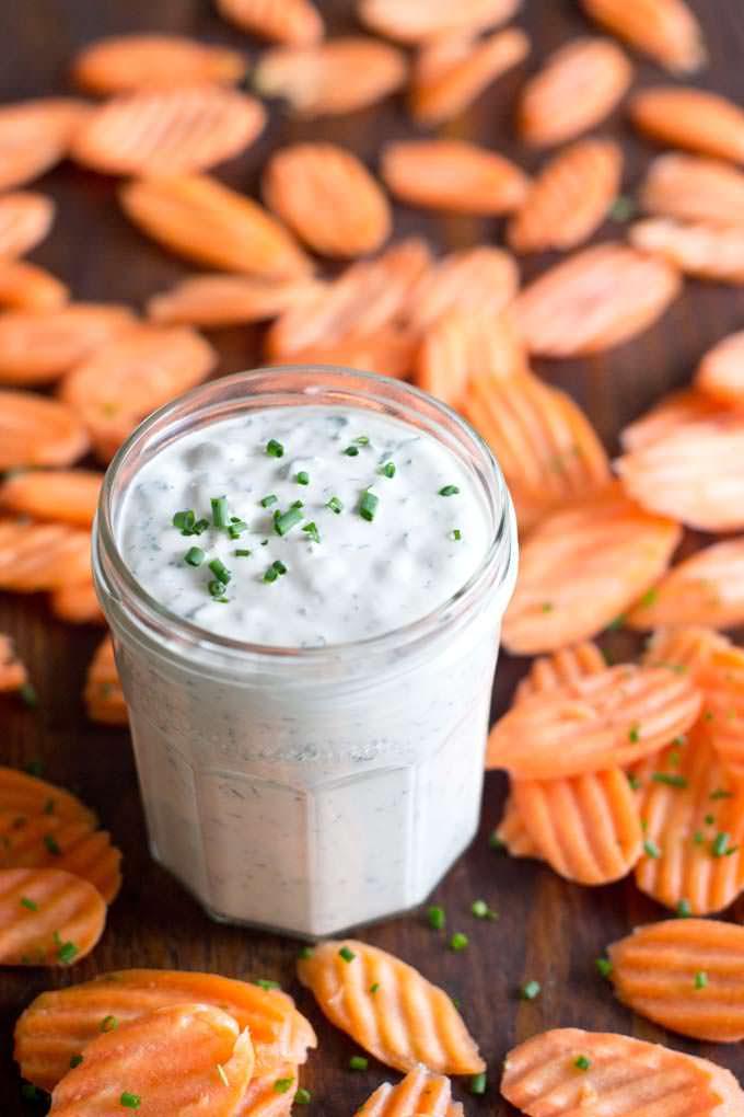 Homemade Ranch Dressing with Greek Yogurt