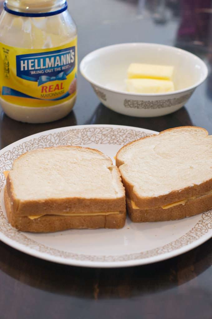 Is mayonnaise better than butter on the outside of a grilled cheese sandwich? We put it to the test!