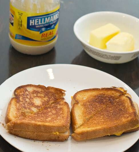 Butter Vs. Mayo Grilled Cheese Taste Test