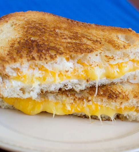 With the best cheeses to use in a perfect grilled cheese sandwich