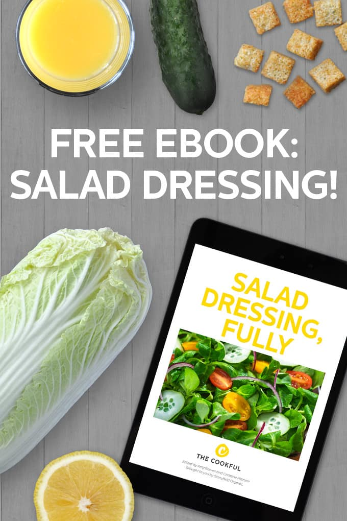 Salad Dressing Ebook wit hclassic recipes, new creative ones and tips and how tos's for making your own creations.