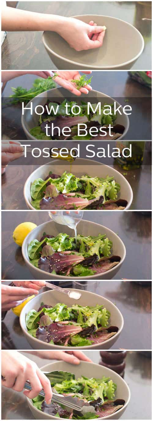 How to Make the Best Tossed Salad, Made Directly in the Bowl