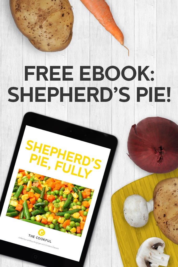 Free 37 Page Ebook all about making THE BEST shepherd's pies ever.