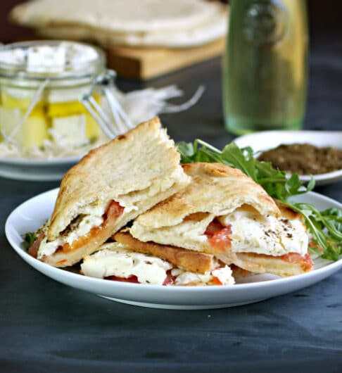 Middle Eastern Grilled Cheese