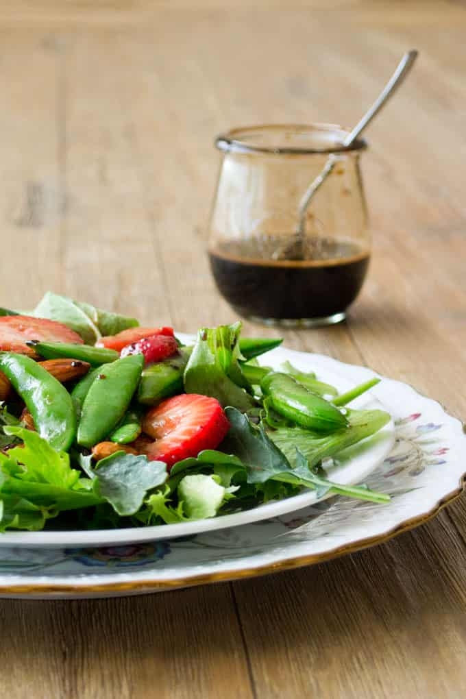 2-Ingredient Sweet Balsamic Dressing