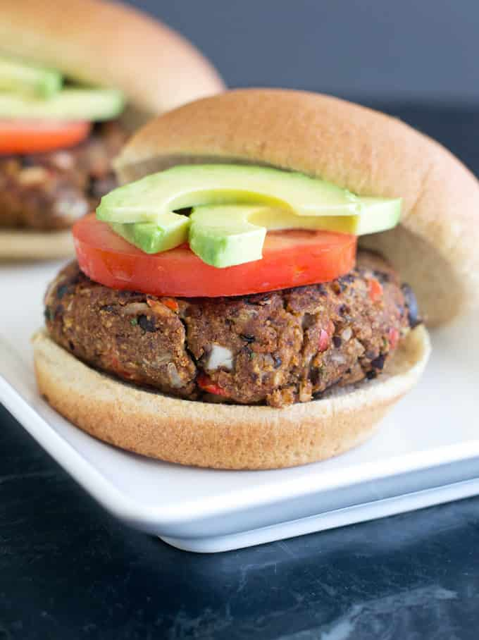 There's a secret trick involved here to make these bean burgers the best ever. Read on to find out what it is.