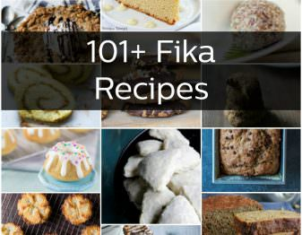 All the Fika recipes that you'll ever need! Perfect options for your next coffee break.