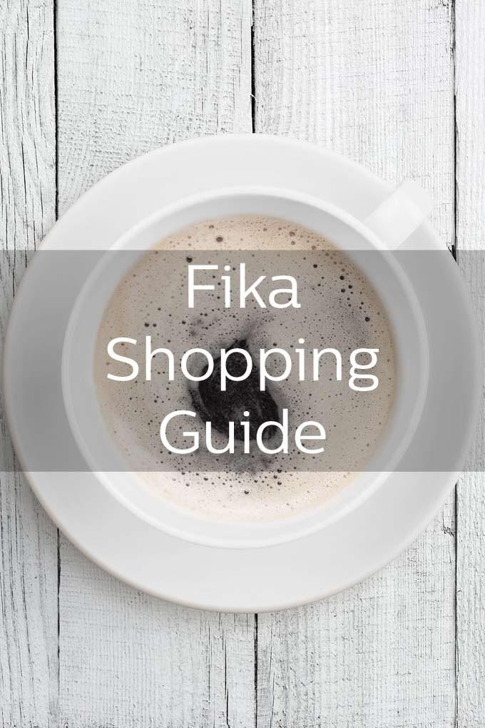 Fika, The Swedish Coffee Break, Essential Shopping Guide