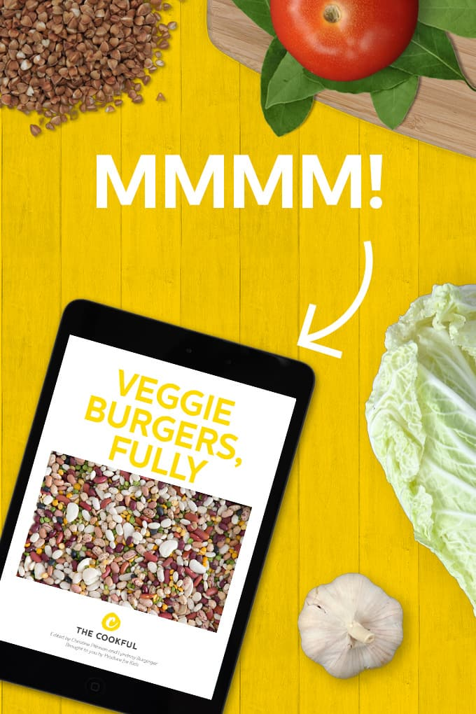 Get our veggie burger ebook!