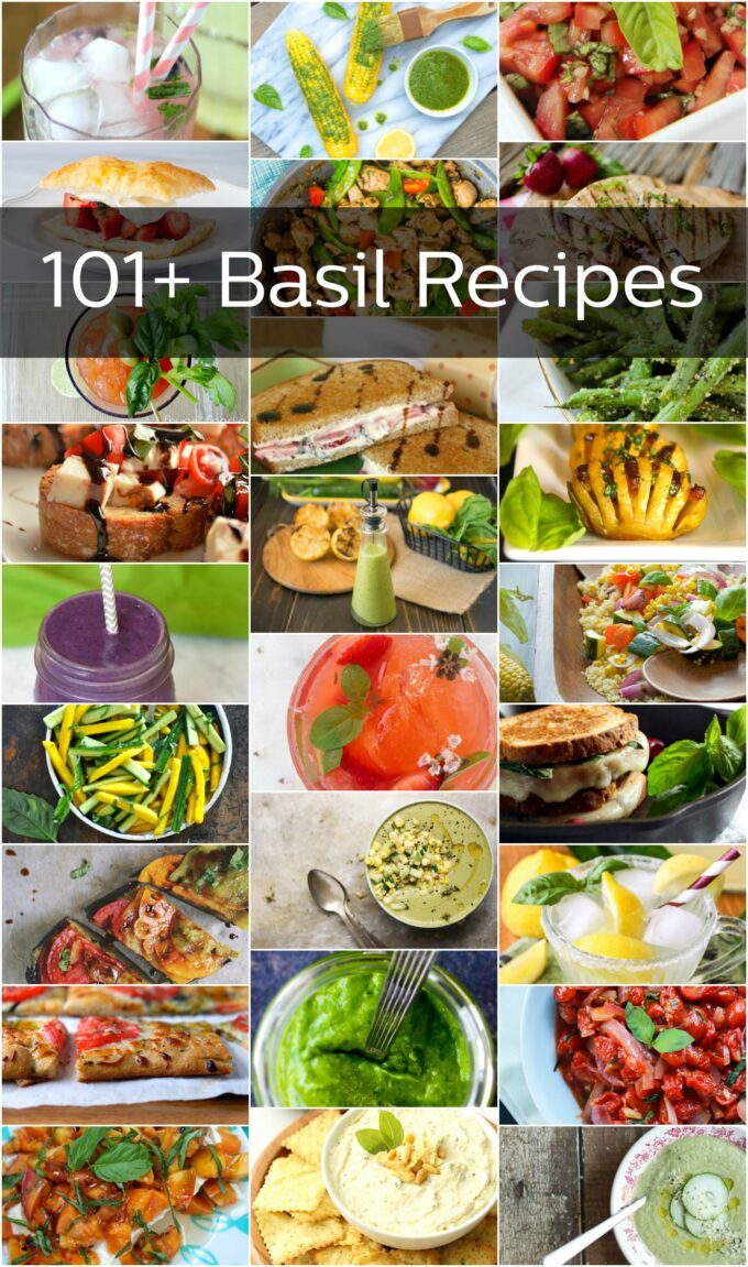 101 Basil Recipes
