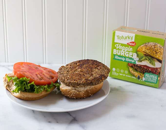Tofurkey Hearty Hemp Burger