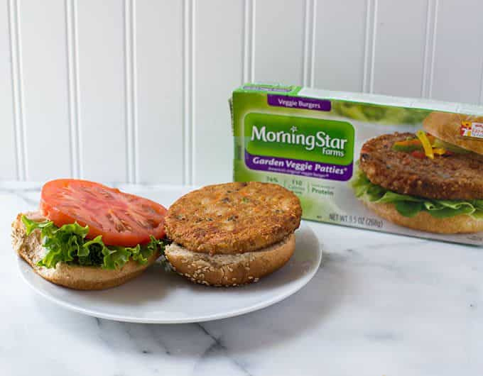 Morningstar Garden Veggie Burger