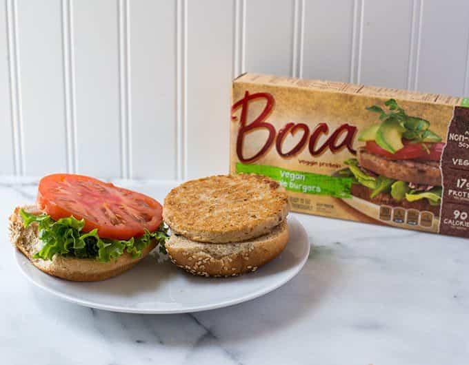 Boca Original Vegan Veggie Burger
