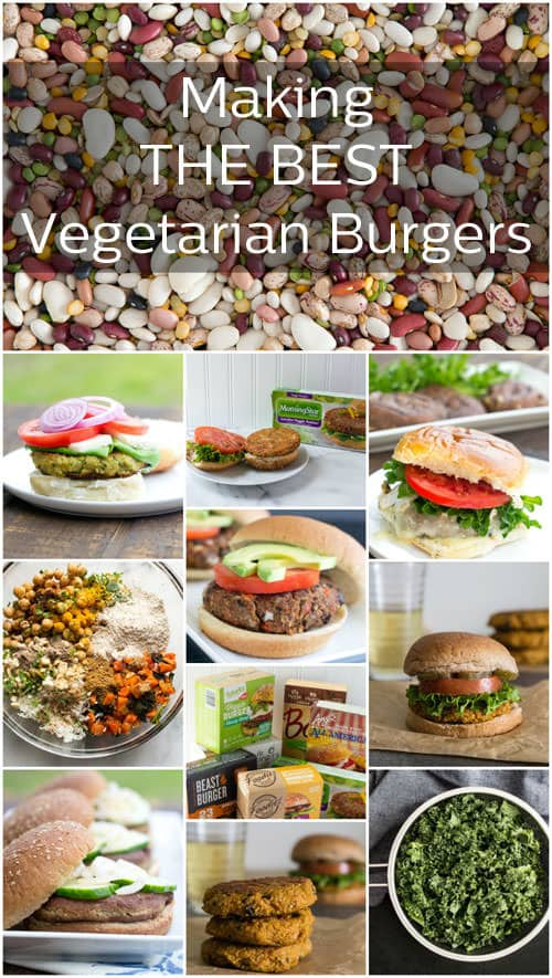 Everything you need to know to make the best vegetarian burgers, plus delicious recipes too!