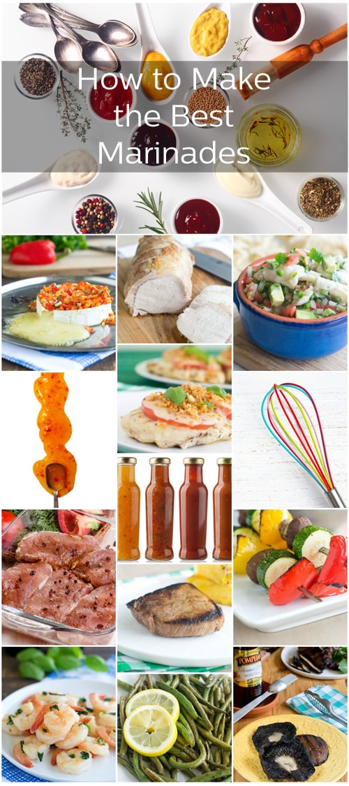 Recipes, tips and how to's to make the best marinades ever