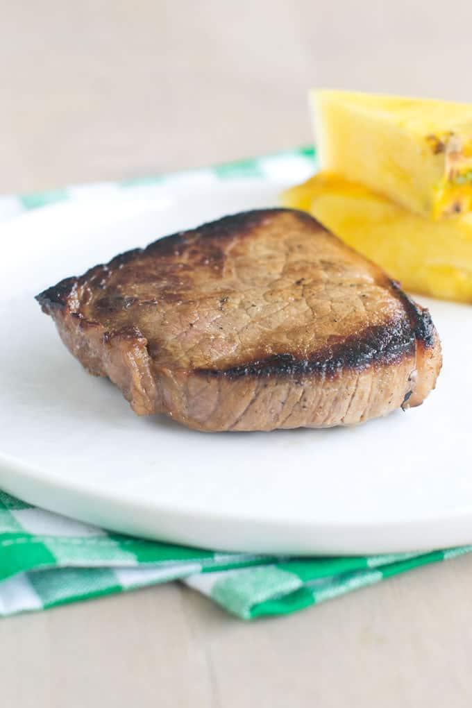 Cheap Steaks in Pineapple Soy Marinade
