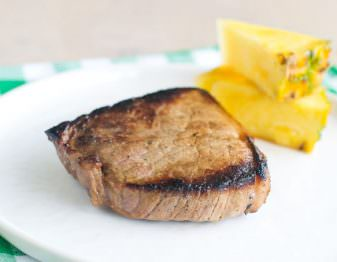 Cheap Steaks in Pineapple Soy Marinade