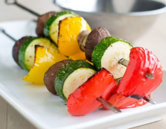 Marinated Vegetable Skewers
