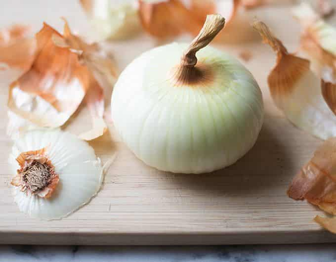 Peeled Vidalia Onion