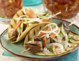 Banh Mì Tacos with Vidalia Onion Slaw