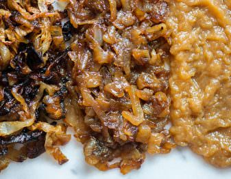Comparison of Caramelized Onion Cooking Methods