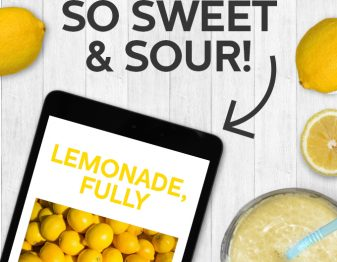 Our deliciously free ebook all about making the best lemonade ever!