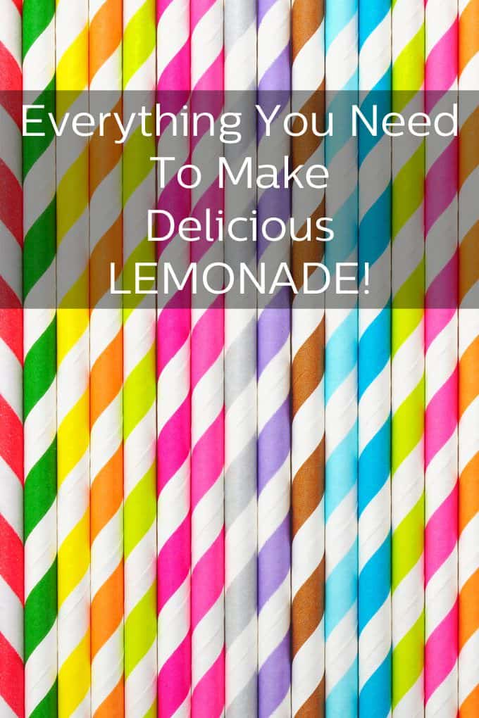 Everything You Need for Delicious Lemonade