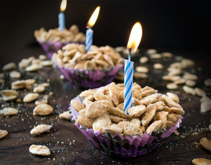 Birthday Cake Flavored Pumpkin Seeds
