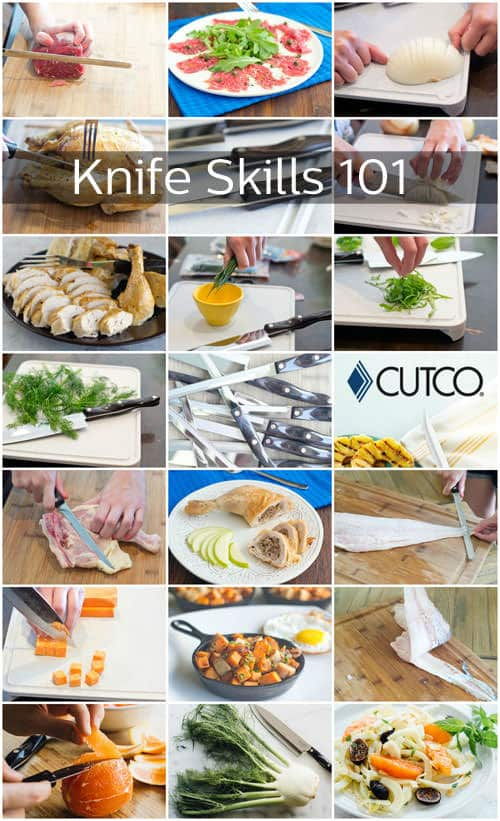 It's time to sharpen up on those knife skills. Get all our tips, tricks, how-to's and delicious recipes that make use of the techniques.