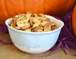 Salty Sweet Pumpkin Seeds