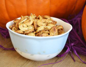Salty Sweet Pumpkin Seeds