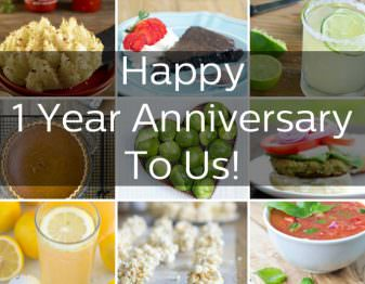 It's The Cookful's 1 Year Anniversary!