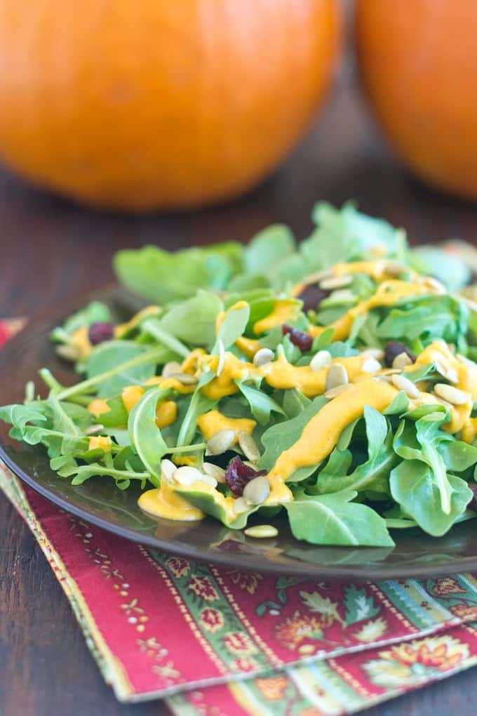 Pumpkin Seed Salad Dressing