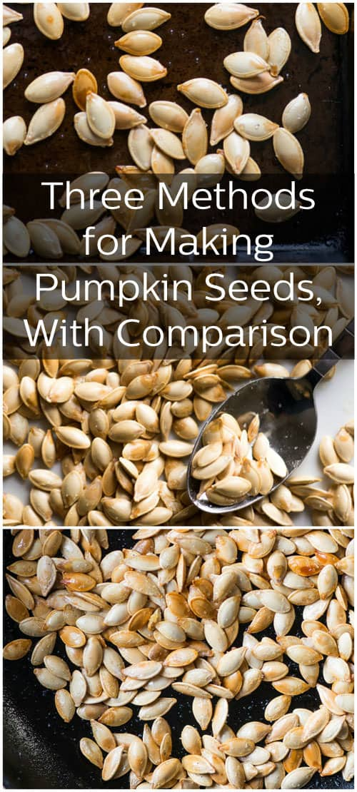 How to cook pumpkin seeds in a convection oven