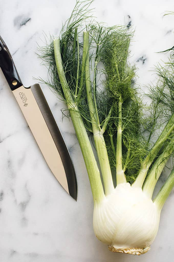 How to Cut a Fennel Bulb