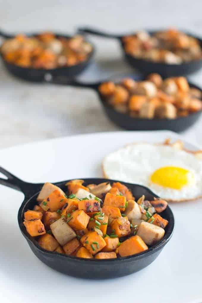 Sweet Potato Hash with Sausage