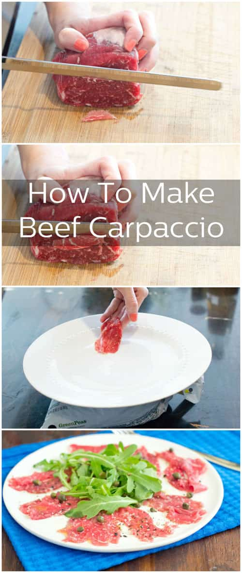 How to Make Beef Carpaccio at Home. So easy!