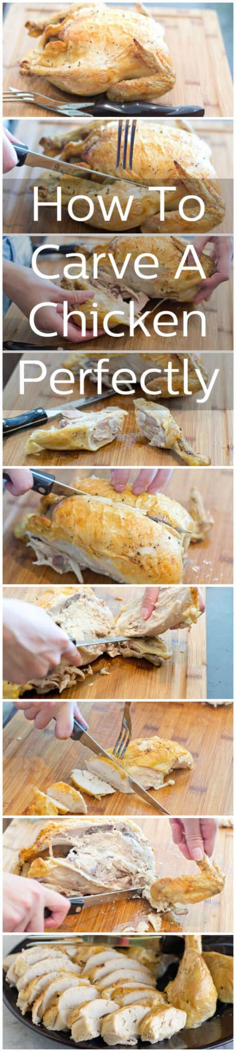 Step-by-step guide for carving a chicken perfectly