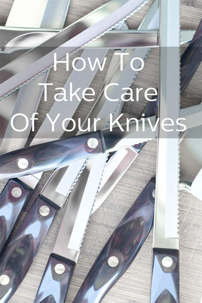 Tips for taking care of your knives so they stay sharp and shiny.
