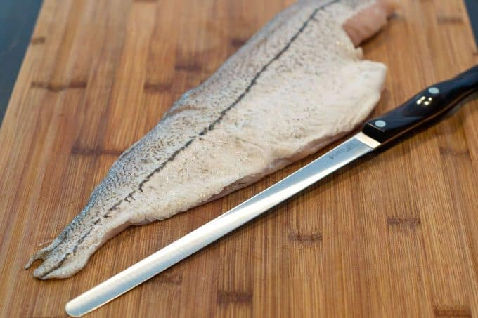how to skin a fish