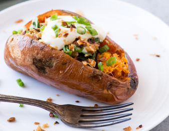 What's the best way to cook a sweet potato?