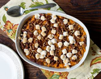 Classic Sweet Potato Casserole