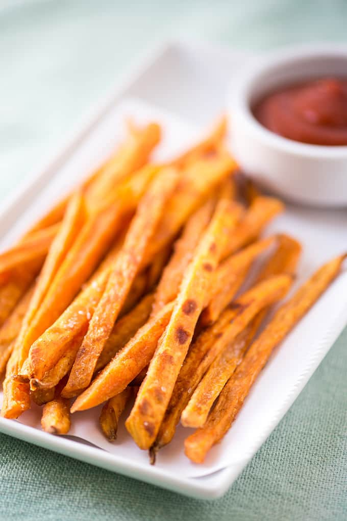 How To Make Crispy Sweet Potato Fries In The Oven