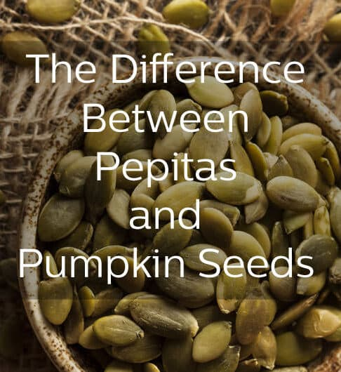 The difference between pepitas and regular pumpkin seeds