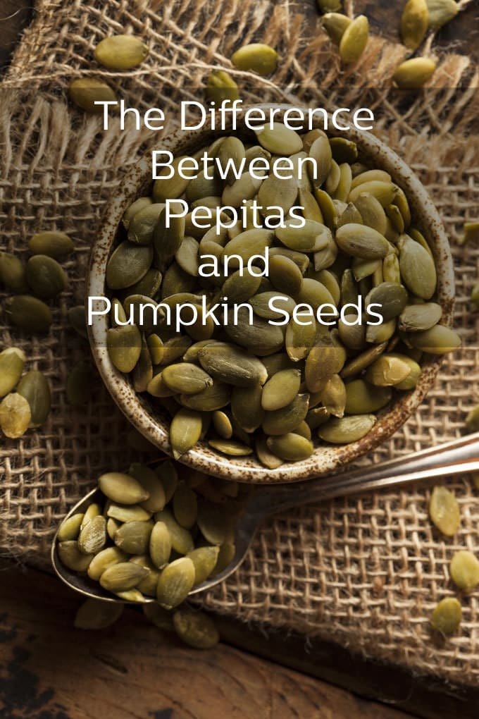 The difference between pepitas and regular pumpkin seeds