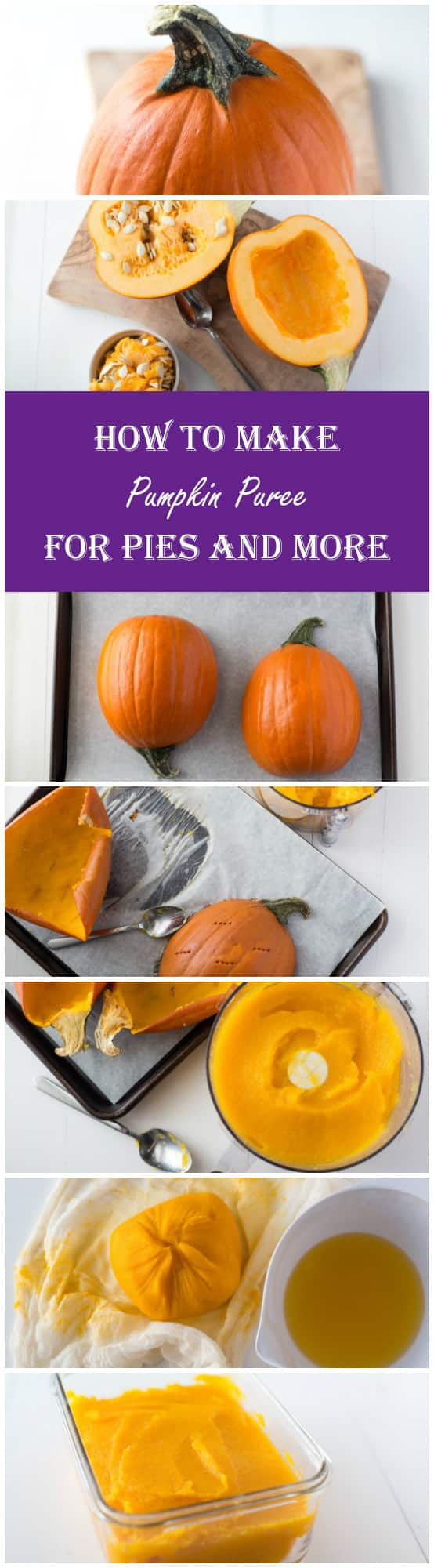 Prepare Your Own Pumpkin for Pie