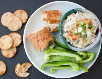 Lighter Philly Cheesesteak Slow Cooker Dip