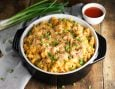 Learn how to make mac & cheese better than ever by adding the flavors of buffalo wings.