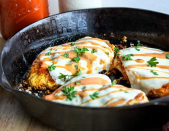 Buffalo Chicken Parmesan